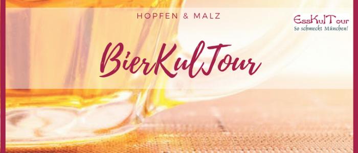 Der Klassiker unter den München-Führungen: BierKulTour