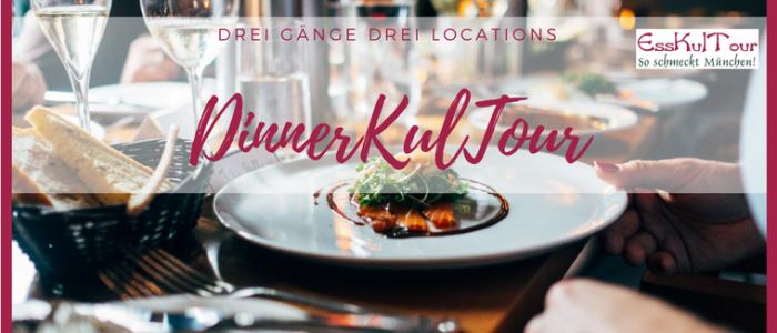 Die DinnerKulTour verbindet ein Abendessen mit einer kleinen Stadtführung